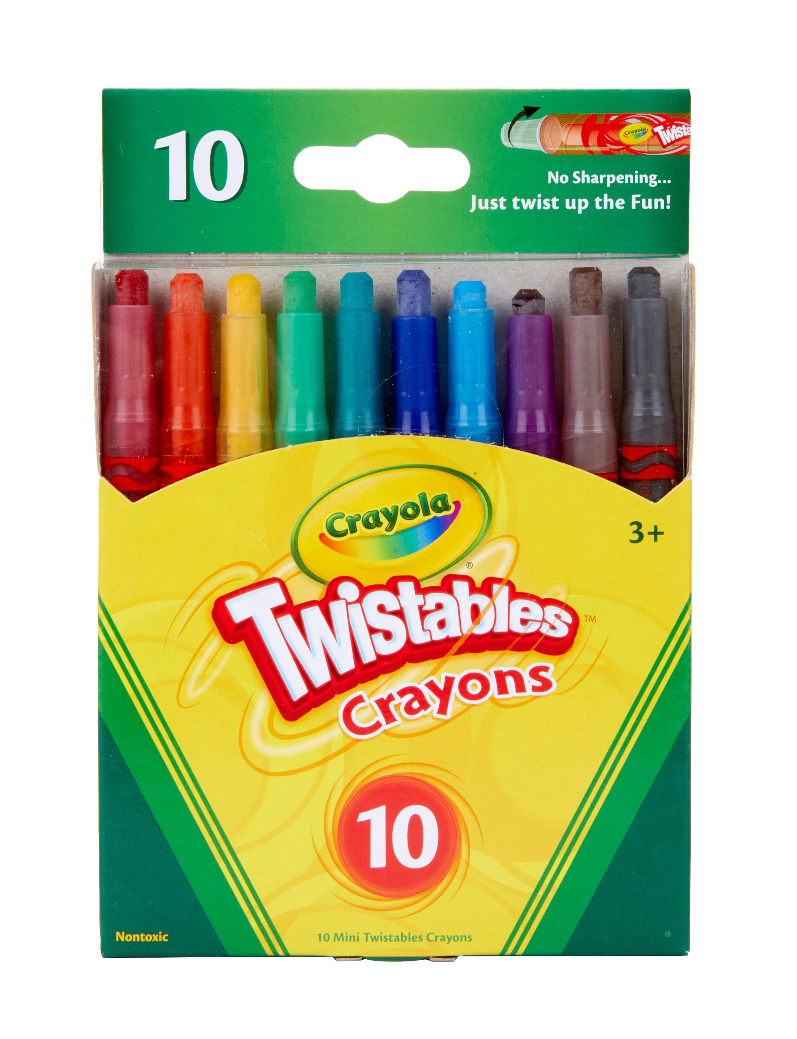 10-ct. Crayola Twistables Crayons Coloring Set $1.97 - Amazon