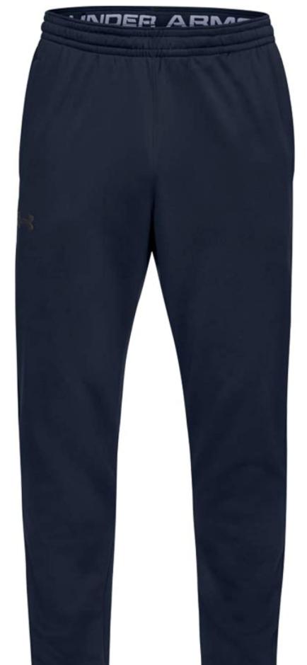 Under Armour Men's Armour Fleece Pants  4XL $13.32 (Academy Blue/Black) & MORE - Amazon