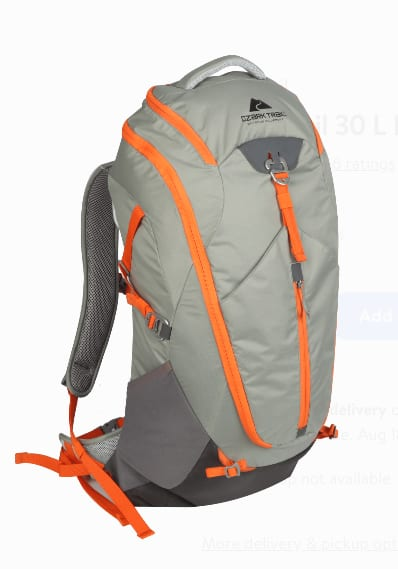 Ozark Trail Daypacks & Backpacks: 28L Denali Outdoor Backpack $17.69 & More - Walmart