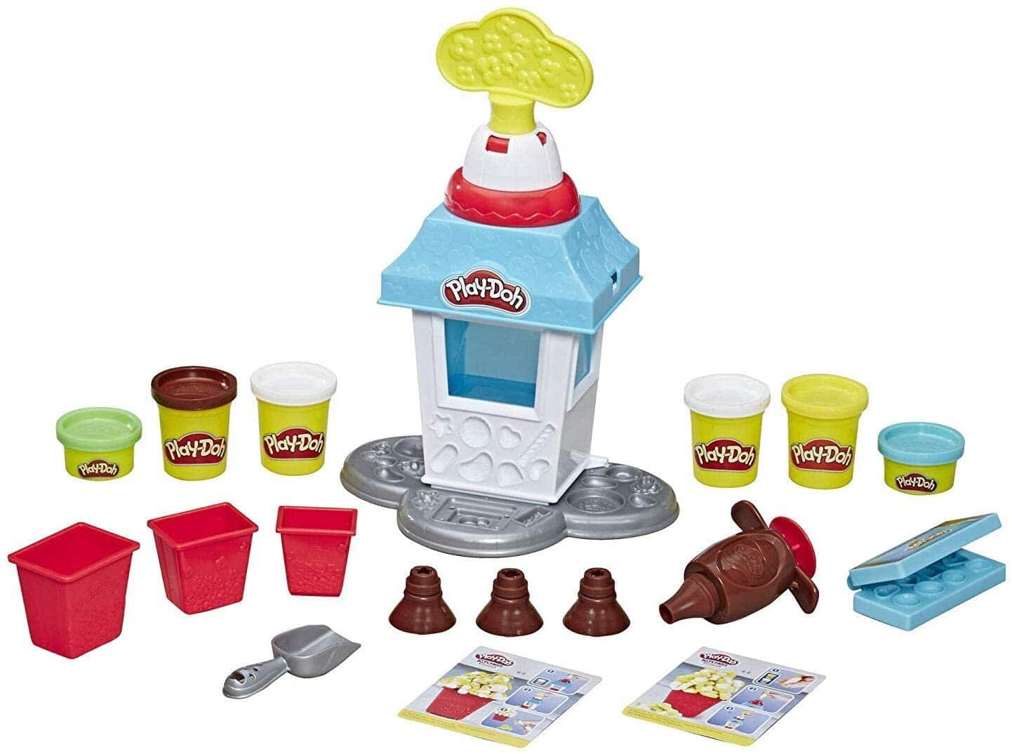 Play-Doh Kitchen Creations Popcorn Party Play Food Set $8.90 - Amazon