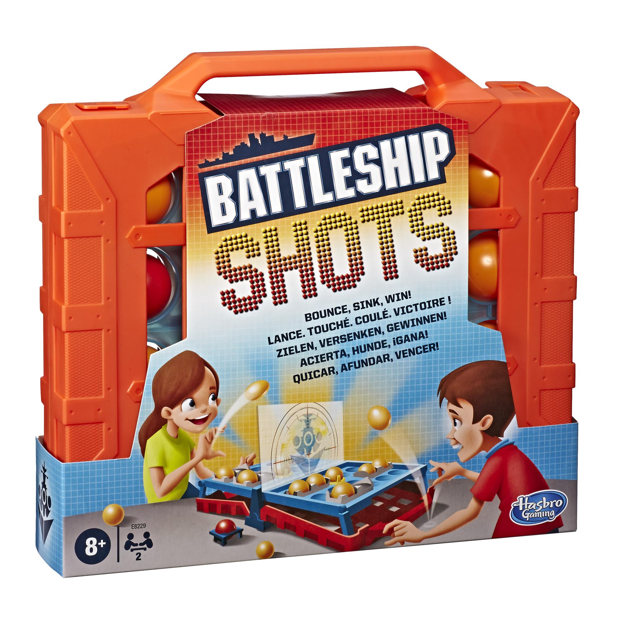 Hasbro Gaming Battleship Shots $10.19 & More - Amazon