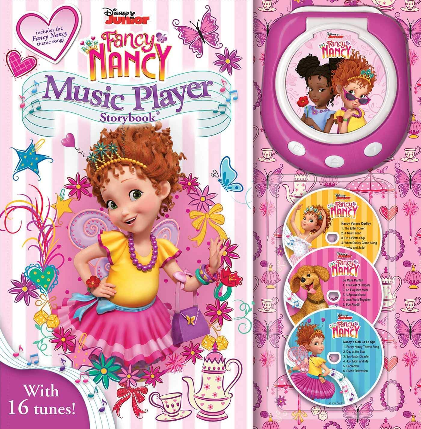 Disney Fancy Nancy Music Player Storybook $8.06 - Amazon / Walmart