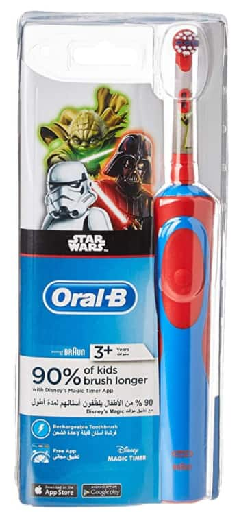 Oral-B Kids Star Wars Battery Powered Electric Toothbrush w/ Extra Soft Bristles 3 for $9.91 - Amazon