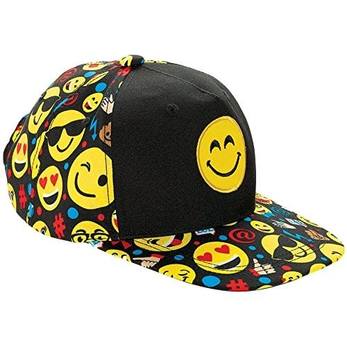 Smiley Emoji Baseball Hat / Cap $3.82 - Amazon