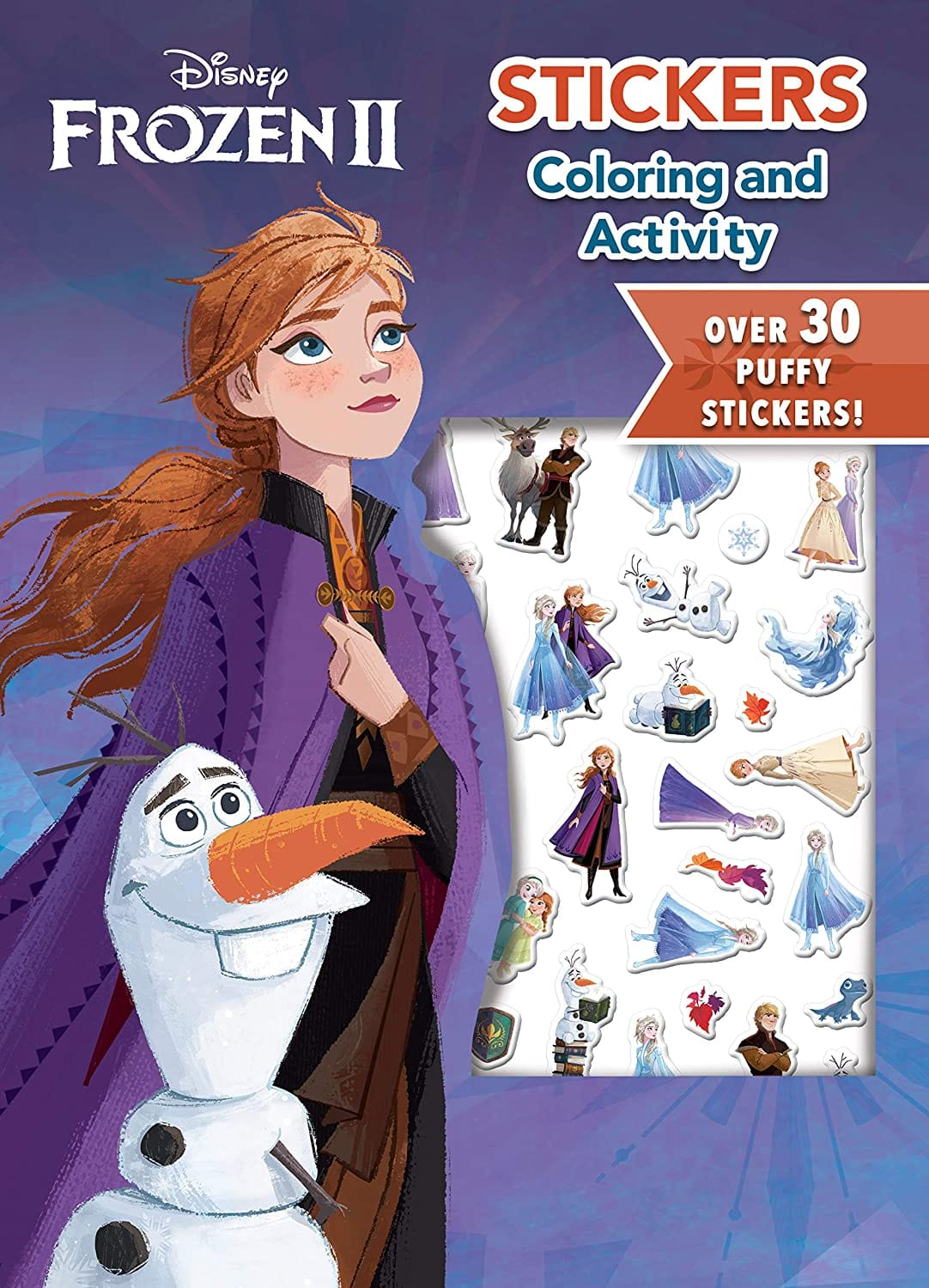 32-Page Disney Frozen 2 Coloring Activity Book w/Puffy Stickers $4.46 - Amazon