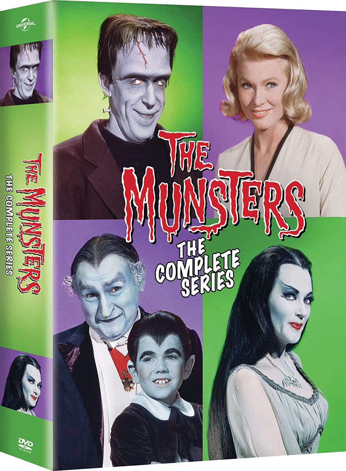 The Munsters: The Complete Series (DVD) $16.99 - Amazon