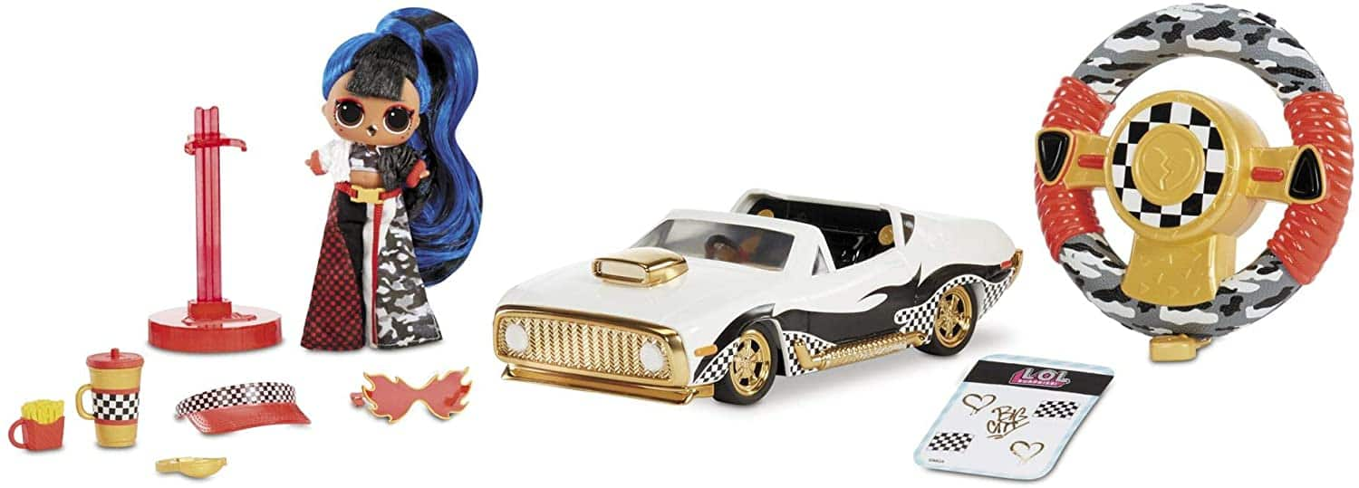 L.O.L. Surprise! RC Wheels – Remote Control Car with Limited Edition Doll $20.99 - Amazon