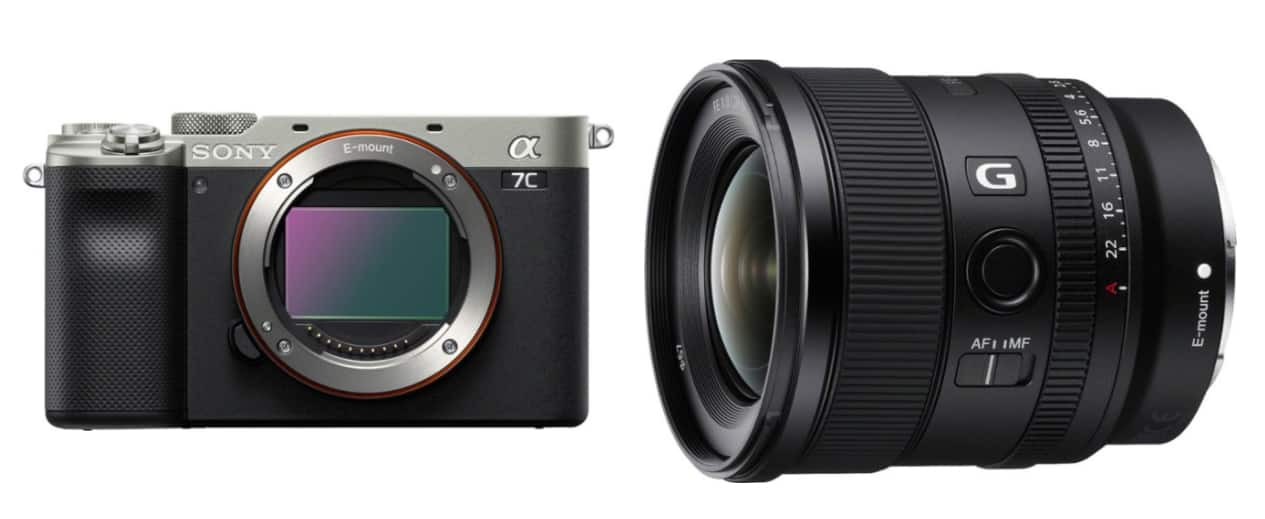 Sony - Save up to $150 when you bundle the Alpha 7C full-frame camera with the 20mm F1.8 G Lens $2,549.98