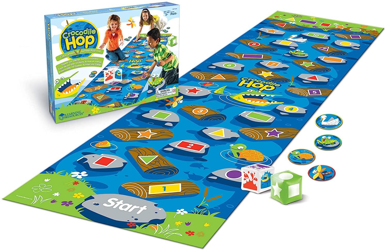 Learning Resources Crocodile Hop Floor Game $11.99 - Amazon