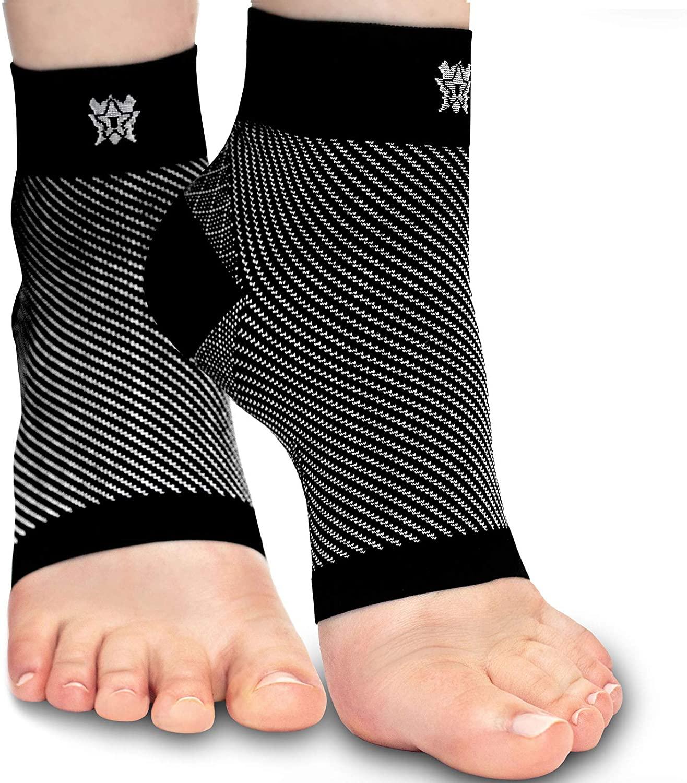 Bitly Plantar Fasciitis Compression Socks for Women & Men (Various Colors S,M,L,XL) $5.99 - Amazon