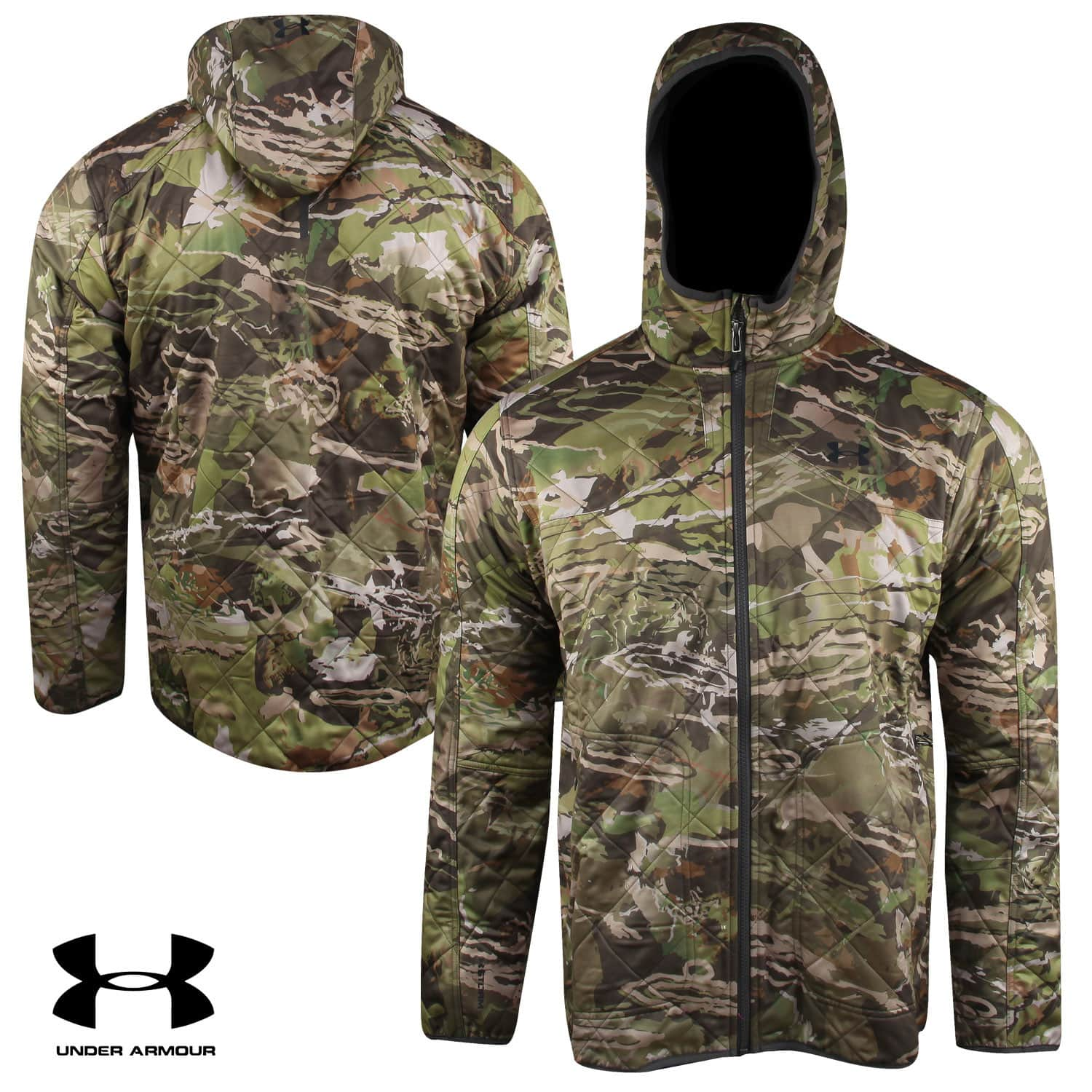 Under Armour Brow Tine Jacket w/Hood (Ridge Reaper Forest) (S to 3XL) $79.91 + Free Shipping