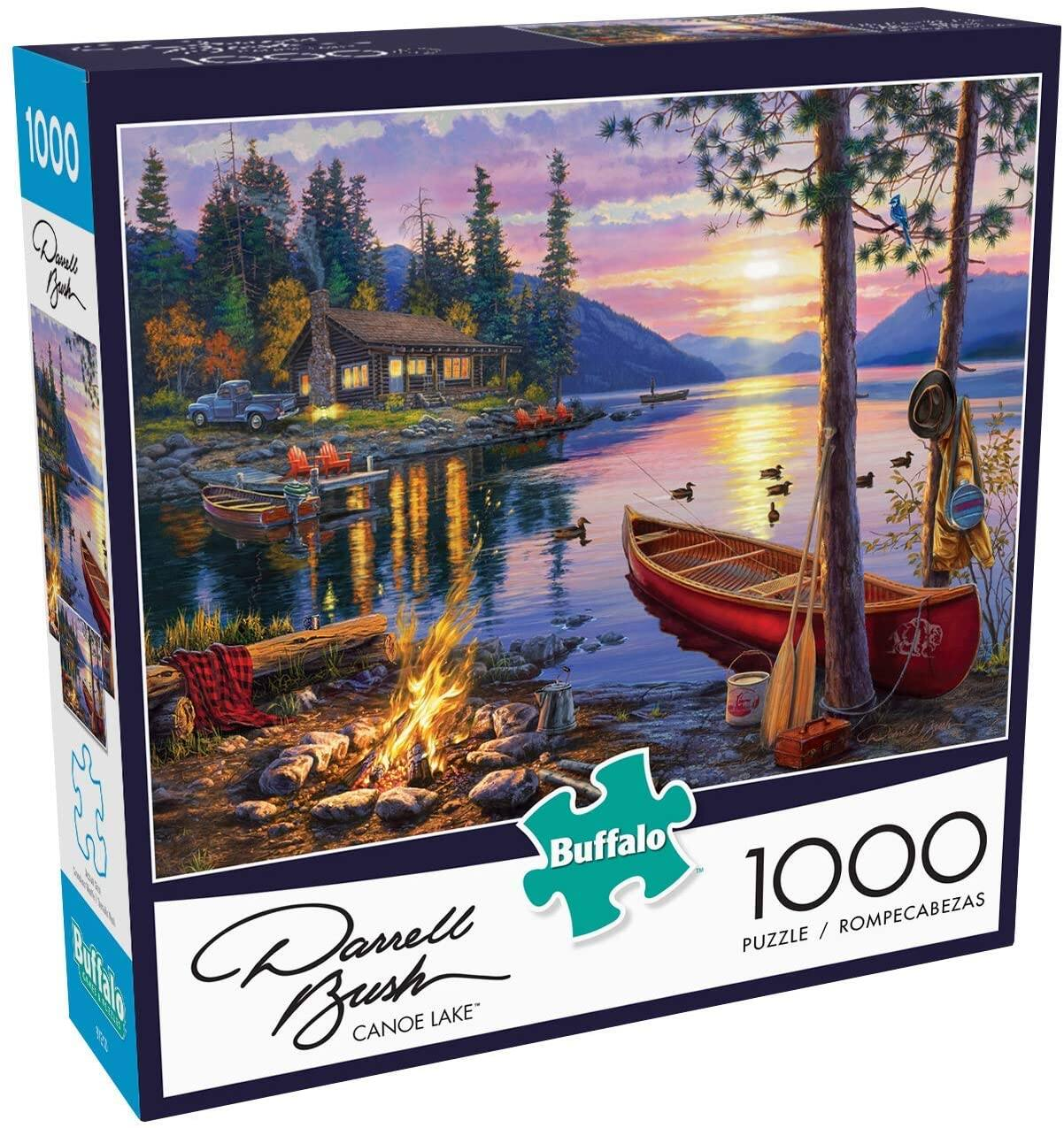 Buffalo Games - Assorted 1000 Piece Jigsaw Puzzles $9.97 ea. - Amazon