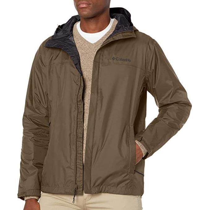Columbia Men's Watertight II Jacket (Sz. 5X, Olive Green) $21.92 Amazon