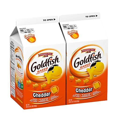 2-Ct 30-Oz Pepperidge Farm Goldfish Cheddar Crackers $8.60 w/ Subscribe & Save