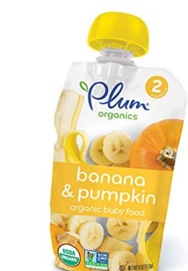 Plum Organics Banana and Pumpkin $7.08 with Amazon Family S&S