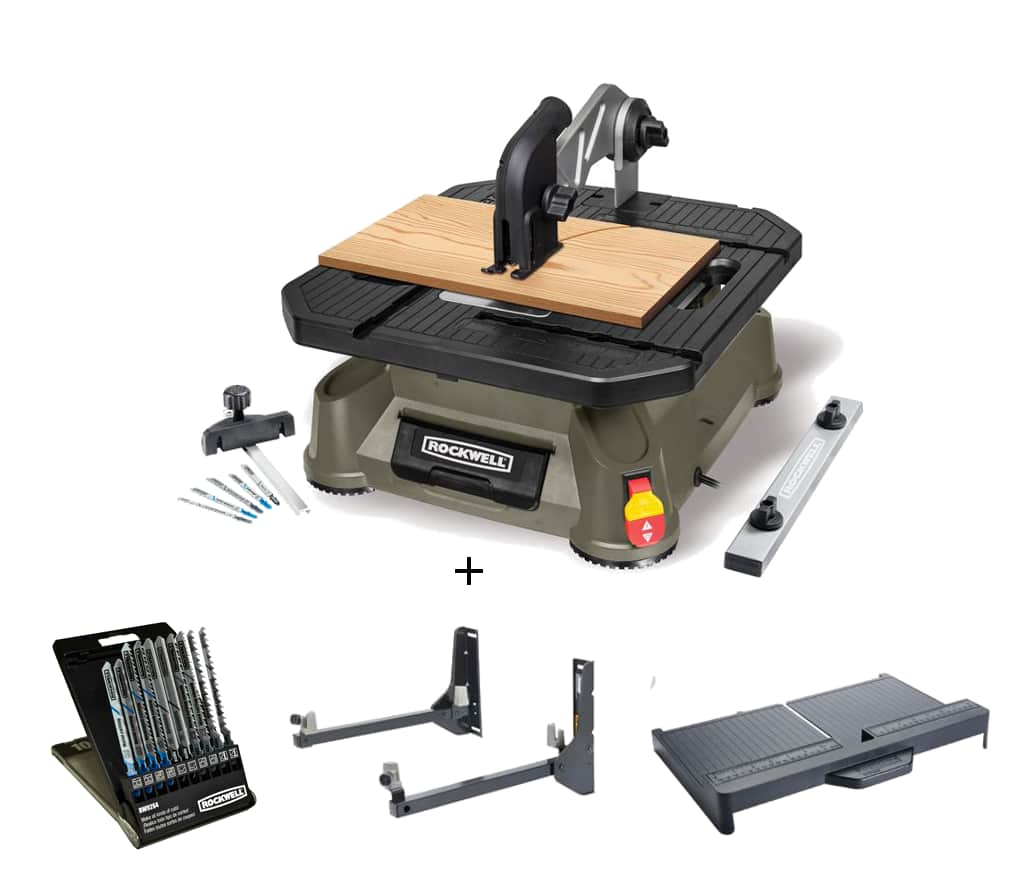 Rockwell Rk7323 Bladerunner X2 Tabletop Saw Combo Kit