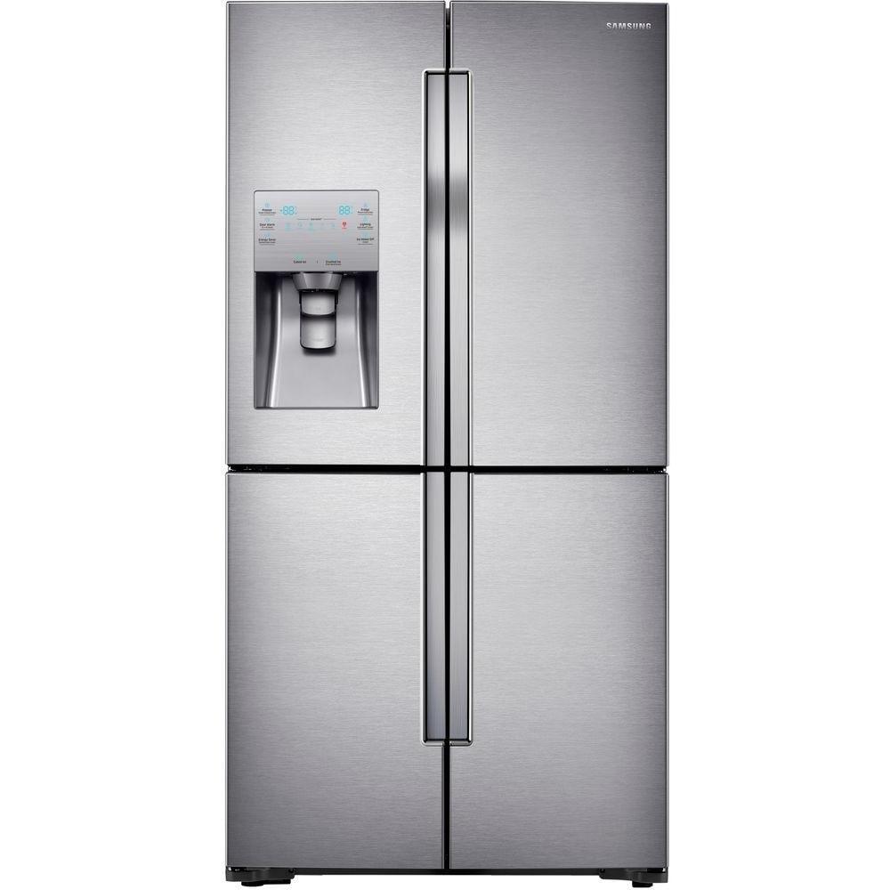 [YMMV] Samsung 22.5 cu. ft. 4-DoorFlex French Door Refrigerator in Stainless Steel, Counter Depth - $1710