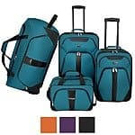 U.S. Traveler by Traveler's Choice Oakton 4-Piece Colorful Lightweight Luggage Set $87.99 + ship @overstock.com