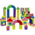 60 Count Click N' Play Non-toxic Foam Blocks w/ Carry Tote $11.79 + ship @amazon.com