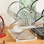 Brylane Home  2-Tier Dish Rack $14.39 + $5.99 shipping @fullbeauty.com