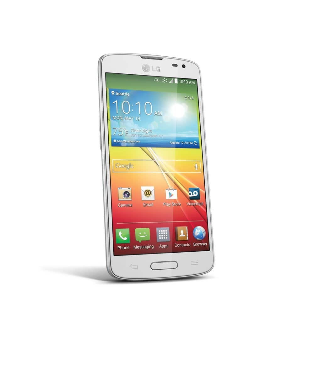 Sprint Prepaid - LG Volt 4G No-Contract Cell Phone - White $39.99 + fs @bestbuy.com