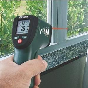 Extech IRT25 Infrared Thermometer 12: 1 with Audible Alarm $4.97 @ Amazon