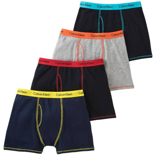 e05075dd Calvin Klein Boys 4 Pack and girls 6 pack Underwear at Costco for ...