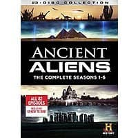 Amazon Deal: Ancient Aliens Seasons 1-6 DVD set $36.68 Amazon.com