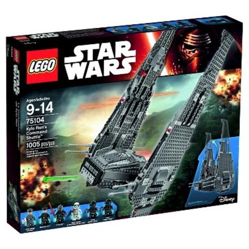 Target: LEGO® Star Wars™ Kylo Ren's Command Shuttle™ (75104) $59.98 YMMV