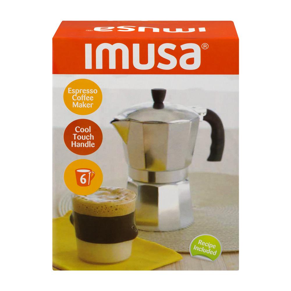 Imusa 6-Cup Espresso Coffee Maker $5 + Free Store Pickup @ Walmart