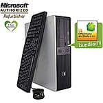 HP DC5850 Dual Core PC - Refurb with Office 2010 and WIndows 7 at Staples - $119