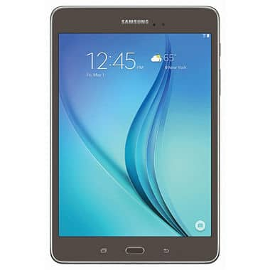 Samsung Galaxy Tab A 8-inch 16GB Screen Smoky Titanium with Carrying Pouch for $139 at Sam's Club