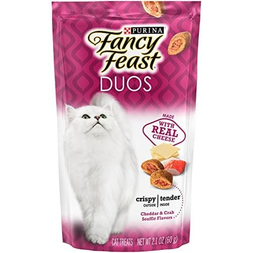 10 Purina Fancy Feast Cat Treats pouches @ Amazon.com - $5 or less with S&S