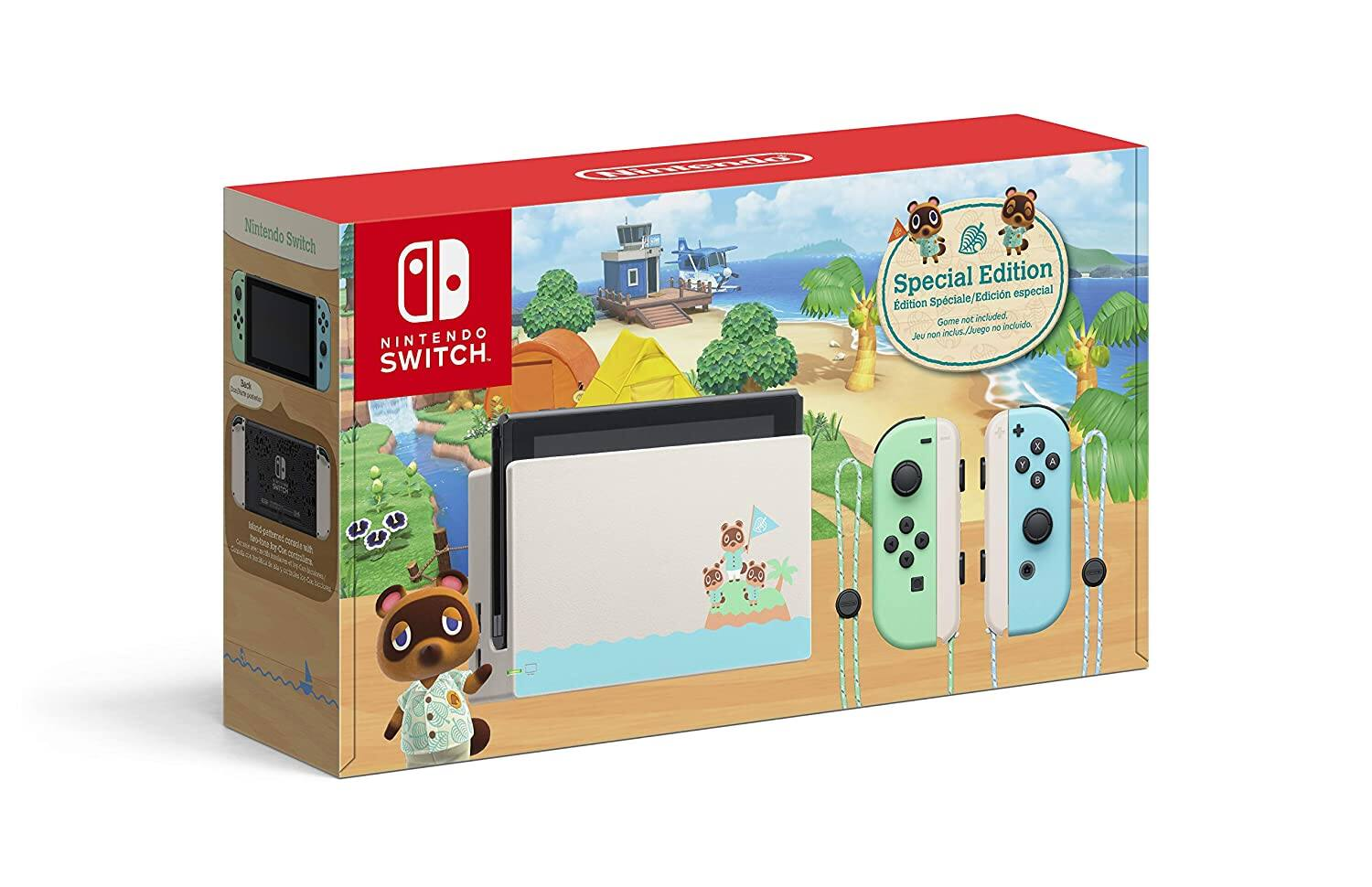 Nintendo Switch - Animal Crossing_ New Horizons Edition $299.99