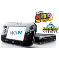 Deal: Black Wii U Deluxe w/Nintendo Land and Super Mario 3D World Bundle - Refurbished $225