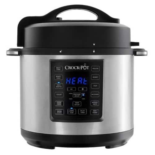 Crock-Pot 6qt 8-in-1 Multi-Use Express Crock Programmable Pressure Cooker, Slow Cooker $47.60 after 15% off coupon (YMMV) @ Amazon