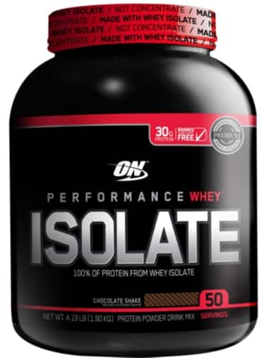 ON Isolate Whey Protein 4lbs for $19.97 at Costco YMMV B&M