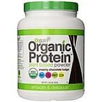 LOWER PRICE: Orgain Organic Protein Powder, Creamy Chocolate Fudge, 2.03 Pounds - $16.71 AC 15% S&S