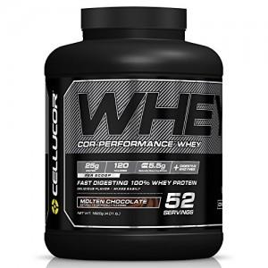 Cellucor 100% Whey Protein Powder - 4 lb tub - Molten Chocolate only -  $5 AC