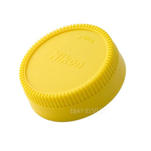 Nikon Rear Lens cap for Nikon AI AF F - Yellow - $6.95 shipped