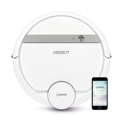 ECOVACS DEEBOT 900 Robotic Vacuum Cleaner in White ($254 + tax) $253.59 Free Shipping