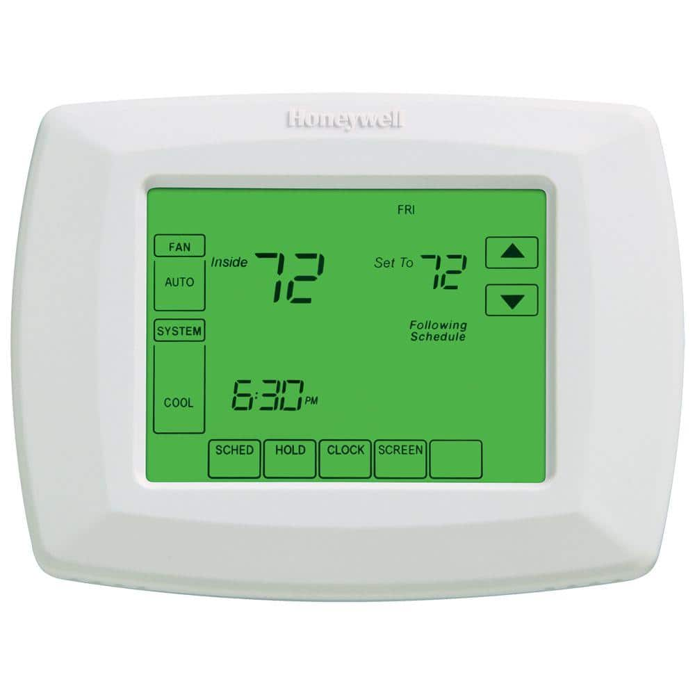 Honeywell 7 day touchscreen programmable thermostat $39.00