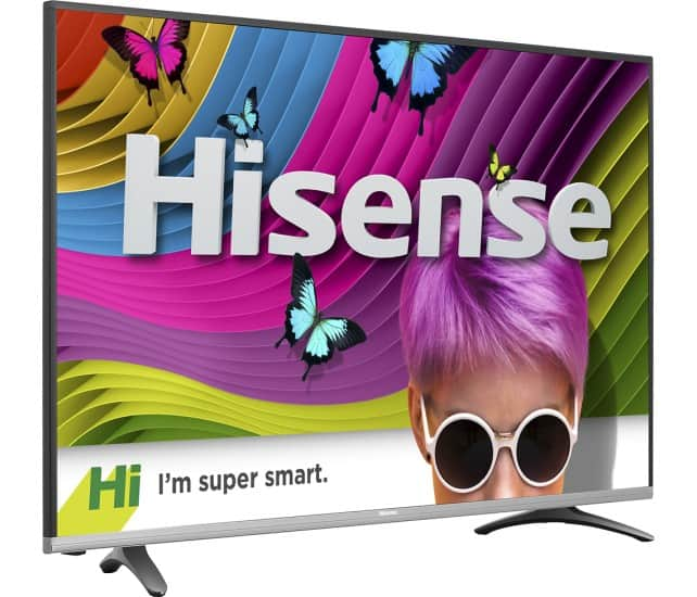 "Hisense 50"" 4k HDR Smart TV 50H8C for $499 at Best Buy - 4k 60Hz 4:4:4 HDMI"