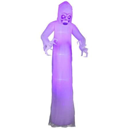 Halloween Ghost 12' Inflatable with Blacklight and Lightning - $65 at Walmart Online - Free S2S or Ship