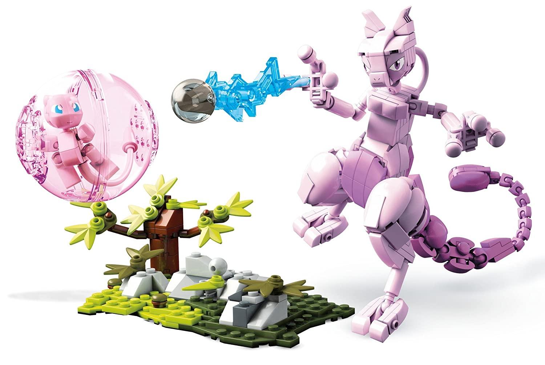Mega Construx Pokemon Mew Vs. Mewtwo Clash [Mewvs. Mewtwo] $14.17 at Amazon After Coupon