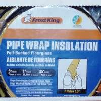Walmart B&M YMMV Frost King Foil Backed Pipe Wrap Insulation