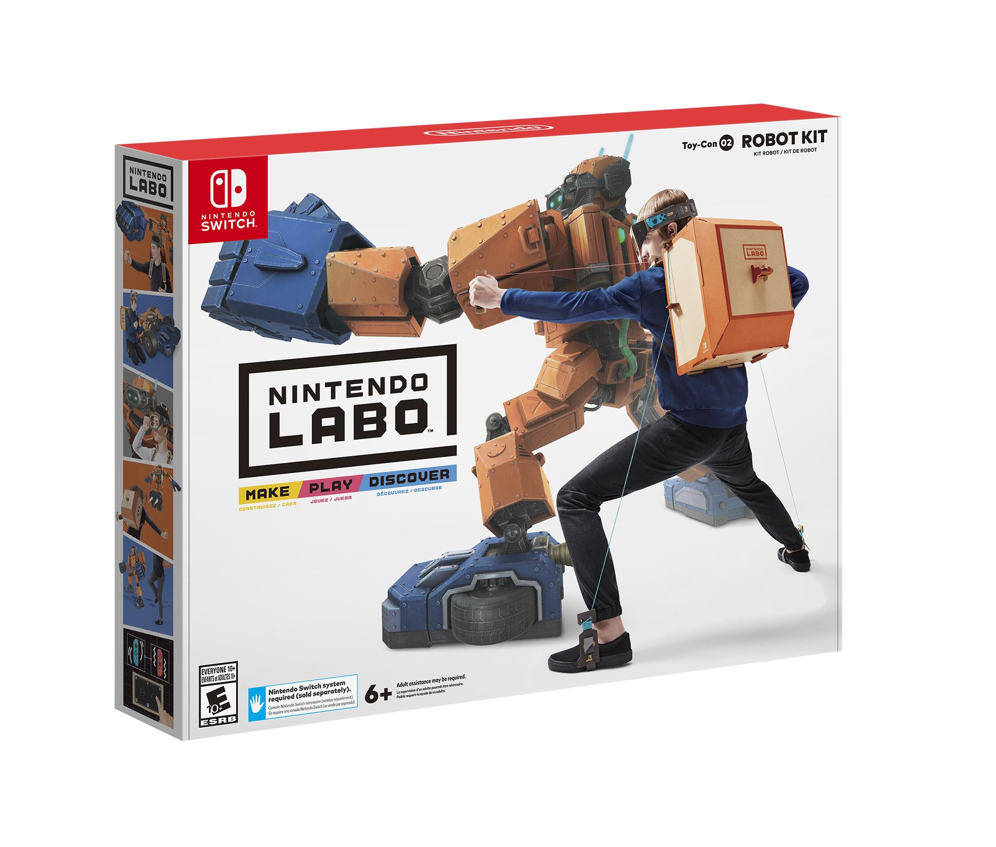 Nintendo Labo Robot Kit Switch Walmart B&M YMMV $19