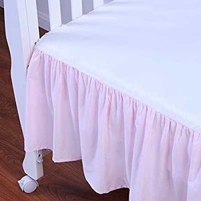 Tillyou Cotton Crib Skirt for $5.95 a/c + Free Shipping