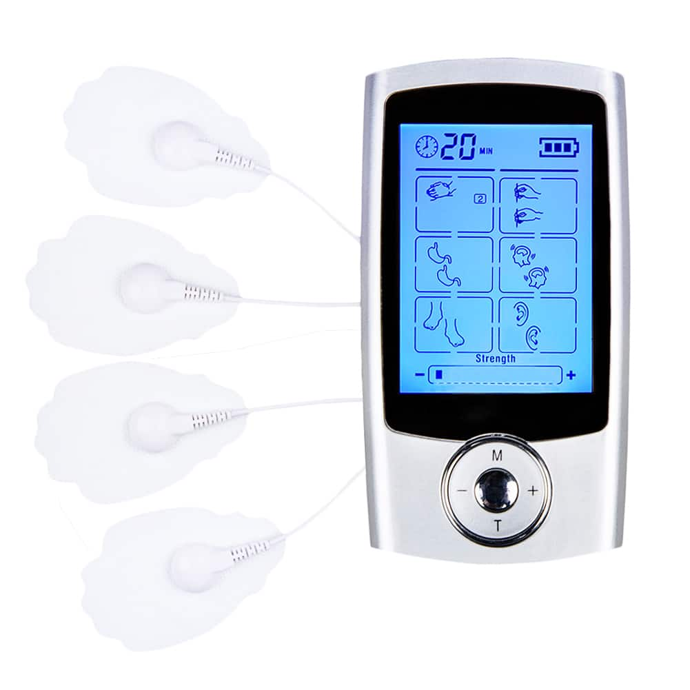 Rechargeable 16 Modes Tens Unit with 8 Pads Pain Relief Machine for $19.50 AC @ Amazon