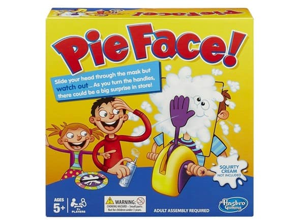 Hasbro Pie Face! Game- $6.99 Woot